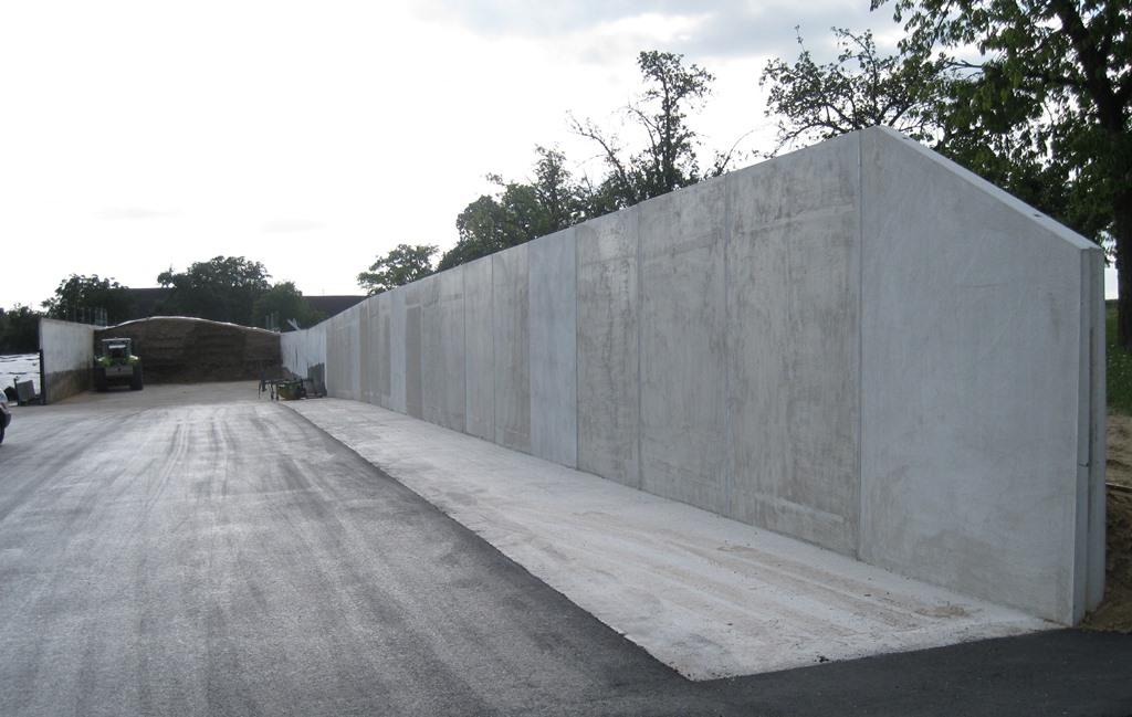 Fahrsilowände Beton-Betz GmbH